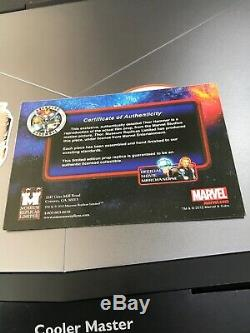 Marvel Prop Replica mjolnir museum Replicas Thor Autographed Stan Lee Hemsworth