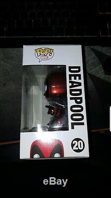 Metallic Deadpool Sdcc, Signed by Stan Lee with COA! Funko pop vinyl