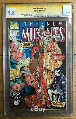 New Mutants #98 1st Appearance Of Deadpool Signed Stan Lee CGC SS 9.8 1316130020