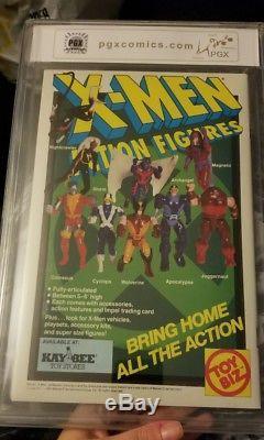 PGX SS 9.8 X-Men #1 1991 3X SIGNED Stan Lee Jim Lee Chris Claremont Not CGC