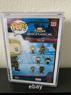 POP! FUNKO #335 Marvel Thor 2018 SDCC GLOW. AVENGERS CAST/STAN LEE SIGNED