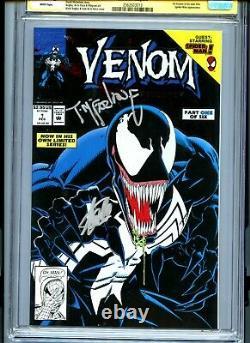 S. S CGC 9.8 Sign McFarlane & Stan Lee Venom Lethal Protector #1 Black Error