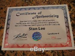 SIDESHOW EXCLUSIVE SIGNED By STAN LEE THOR PREMIUM FORMAT FIGURE Avengers Statue