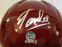 SIGNED BY STAN LEE Replicas IRON MAN Mark 3 HELMET Windlass Sideshow Statue Bust