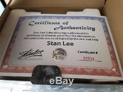 SIGNED BY STAN LEE & SKETCHED By R. BOWEN SILVER SURFER STATUE Sideshow bust