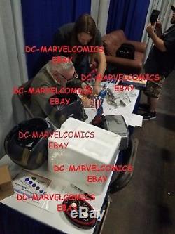SIGNED BY STAN LEE START LORD MASK HELMET REPLICA Marvel legends GUARDIANS STATU