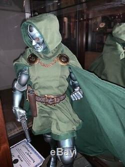 SIGNED by STAN LEE SIDESHOW Dr DOOM PREMIUM FORMAT EXCLUSIVE STATUE With COA