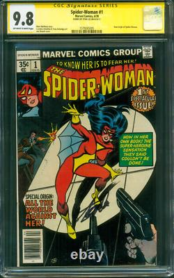 SPIDER Woman 1 CGC SS 9.8 Stan Lee Signed 1978 Infantino Wolfman WOW