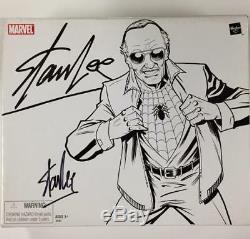 STAN LEE Signed SDCC Marvel Legends SPIDERMAN Comic Con Exclusive Figure PSA COA