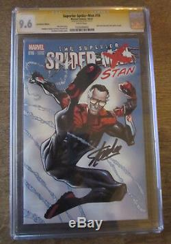SUPERIOR SPIDER-MAN #16 CGC 9.6 SS Signed by STAN LEE