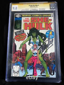Savage She-Hulk #1 (CGC 9.8) Signed by Stan Lee First Appearance Of She-Hulk