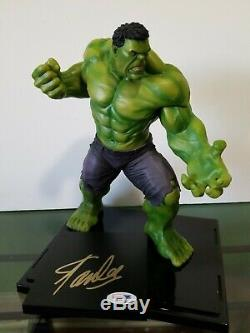 Signed By STAN LEE Bowen Designs HULK Statue Exclusive Marvel