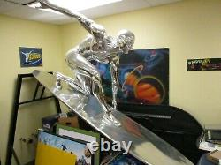 Silver Surfer Life-Size Movie Statue Marvel. 1 of 3 known Signed by Stan Lee
