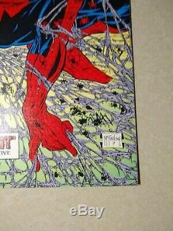 Spider-Man #1 Torment signed by STAN LEE (high grade) 1990