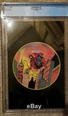 Spider-Man 1PLATINUM CGC 9.0 1990 SIGNED BY STAN LEE
