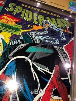 Spider-Man #7 CGC SS 9.8 STAN LEE SIGNED Signature Autograph Ghost Rider
