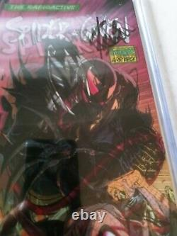 Spider-gwen #25 Lenticular cover Signed STAN LEE withCOA. ASM 316 McFarlane Homage