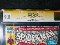 Spider-man #1 9.8 CGC Signed by Stan Lee And Todd Mcfarlane