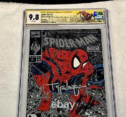 Spiderman 1 CGC 9.8 signed McFarlane & Stan Lee + NY Con SpiderMan Label RARE
