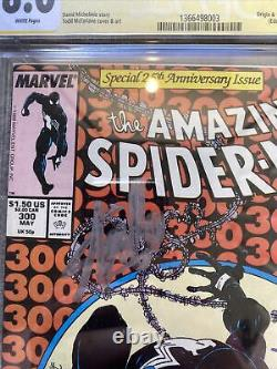 Spiderman 300 cgc 8.0 signed