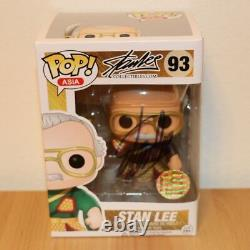 Stan Lee Auto/Autographed Signed Funko Pop Asia Guan Yu Black #93 withAuth. Seal