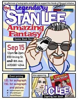 Stan Lee Collectibles Signed Supercon 2014 Show Convention Exclusive Funko Pop