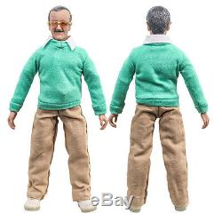 Stan Lee Retro 8 Inch Action Figure Two-Pack Autographed With COA