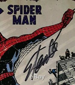 Stan Lee Signed Autograph Amazing Fantasy 15 Wood Print 13x19 with SL Hologram COA