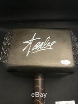 Stan Lee Signed Autographed Thor Hammer Marvel Avengers JSA COA
