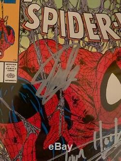 Stan Lee Signed Spiderman #1 With Tom Holland Signature