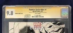 Superior Spider-Man #1 Quesada 1200 CGC SS 9.8 Signed by Stan Lee & Dan Slott