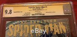 Superior Spider-man #1 Cgc 9.8 Ss Signed 2 Stan Lee Scott Campbell Midtown