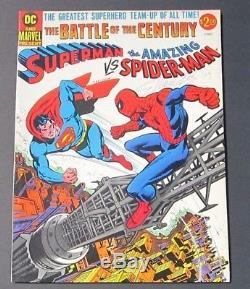 Superman vs. Spider-Man #1 High Grade NM- Signed & Numbered Stan Lee 1998/2000
