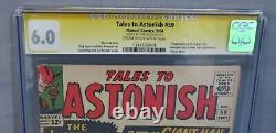 TALES TO ASTONISH #59 (Stan Lee Signed, 1st Hulk in Title) CGC 6.0 FN Marvel 1964