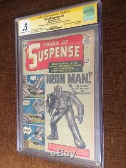 Tales Of Suspense #39 Cgc. 05 Yellow Label SS Stan Lee Signed