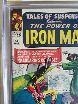 Tales of Suspense #54, CGC SS 7.5, signed by Stan Lee