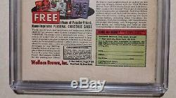Tales of Suspense #58 CGC 3.5 SS signed STAN LEE 1964 Iron Man vs Capt America