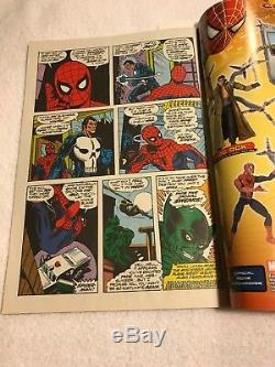 The Amazing Spider-Man #129 Marvel Legends Reprint Signed by Stan Lee VF/NM