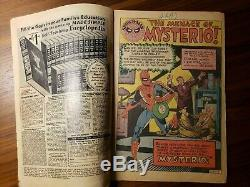 The Amazing Spider-Man #13 (1963) Signed by Stan Lee 1st App. Of Mysterio