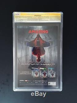 The Amazing Spider-man #1 Ross 1300 Signed Stan Lee Marvel 2014 Cgc Nm/mt 9.8