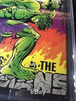 The Incredible Hulk Annual #1 Marvel CGC 4.5 OWithW Signed by STAN LEE