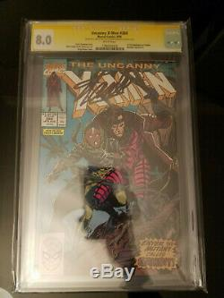 The Uncanny X-Men #266 (Aug 1990, Marvel) CGC 8.0 Signed by Stan lee