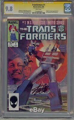 Transformers 1 Cgc 9.8 Ss Signed By Stan Lee 1st Autobots / Decepticons Rare Sig
