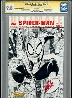 Ultimate Comics Spider-man #1 Cgc Signature Series 9.8 Stan Lee Signed Variant
