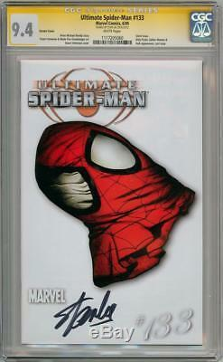 Ultimate Spider-man #133 Variant Cgc 9.4 Signature Series Signed Stan Lee Marvel