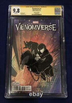 Venomverse #1 Remastered Edition McFarlane 11000 CGC SS 9.8 Signed by Stan Lee