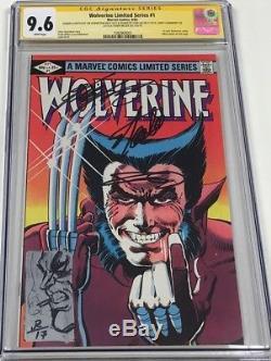 Wolverine #1 Signed Stan Lee / Frank Miller / Chris Claremont +Sketch CGC 9.6 SS