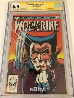 Wolverine Limited Series #1 6.5 CGC SS Signed by STAN LEE