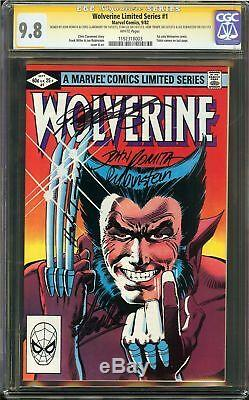 Wolverine Limited Series #1 CGC 9.8 Signed 5x STAN LEE 1st solo WOLVERINE comic