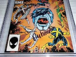 X-Factor #6 1st Appearance of Apocalypse CGC SS 6x Signed STAN LEE RUBINSTEIN